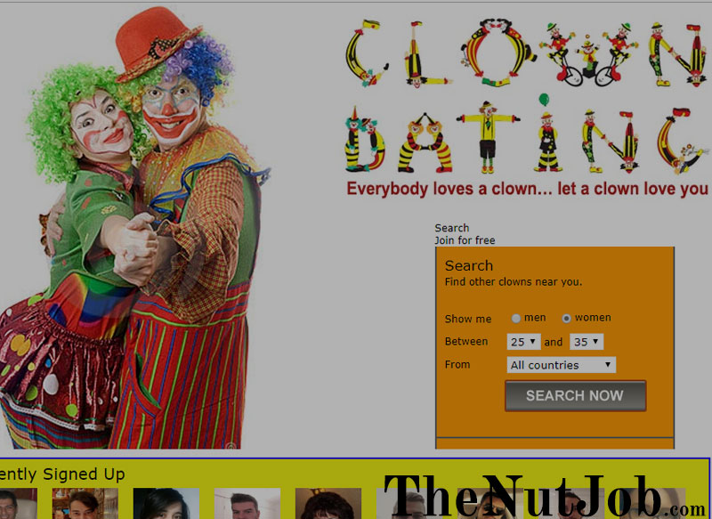 clown dating site
