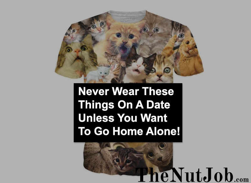 Cat tee shirt do not wear it