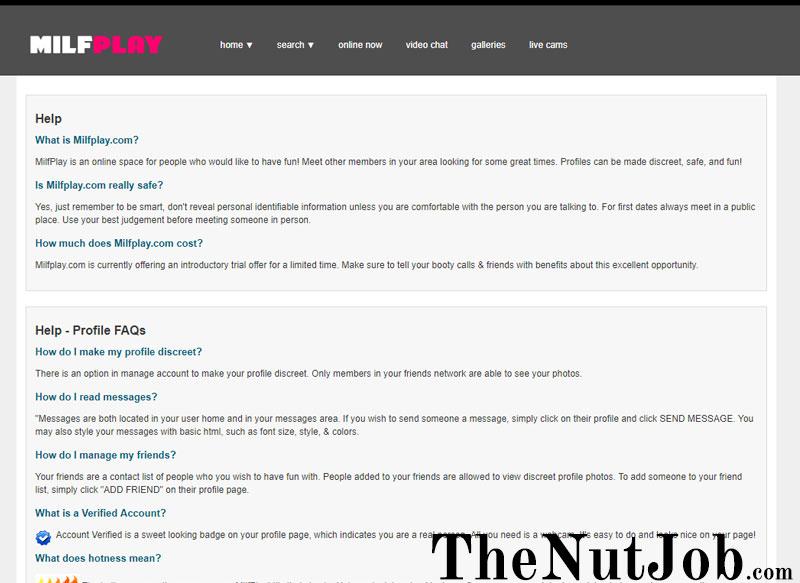 Milfplay.com FAQs