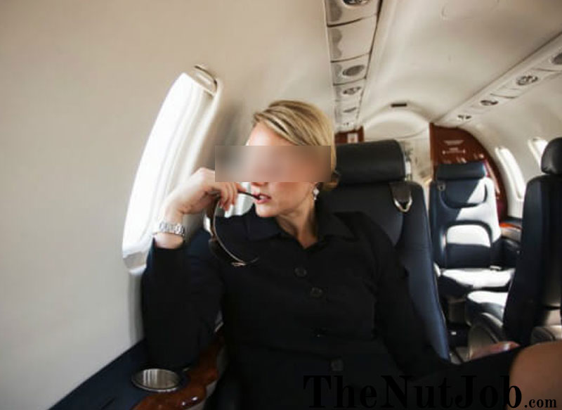 sugar momma on a plane