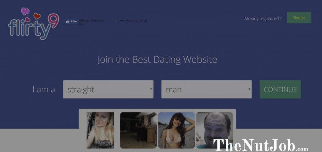 Flirty9 Homepage