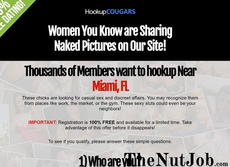 hookup cougars