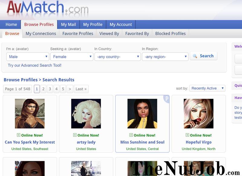avmatch profiles