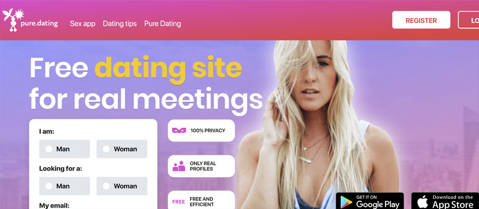 pure dating site